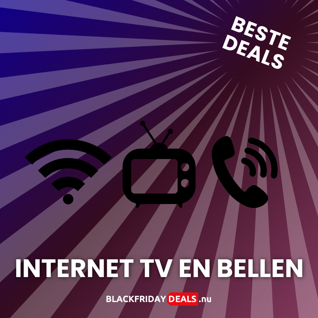 Internet, TV en Bellen Black Friday