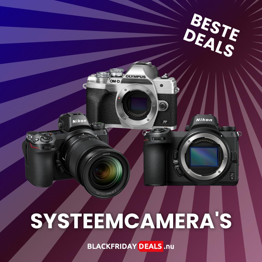 Systeemcamera's Black Friday